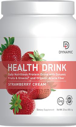 Dynamic Health Drink - Strawberry Cream